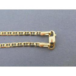 Zlatá retiazka vzor valentina žlté zlato DR45517Z 14 karátov 585/1000 5,17g