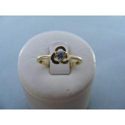 Dámsky prsteň zo žltého zlata zirón 14 karátov 585/10001,52g