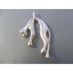 Pánsky strieborný prívesok puma VIS2379 925/1000 23,79 g
