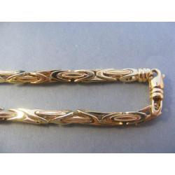 Zlatá pánska retiazka žlté zlato DR585557Z 585/1000 14 karátov 55.57 g