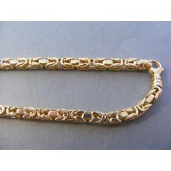 Zlatá pánska retiazka žlté zlato DR61320Z 14 karátov 585/1000 32,00 g