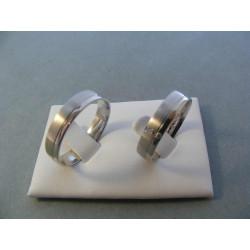 Svadobné obrúčky model 42/F 56623235