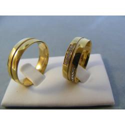 Svadobné obrúčky model 31/J 56624247