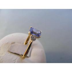 Zlatý dámsky prsteň žlté zlato zirkón VP59259Z 585/1000 14 karátov 2,59 g