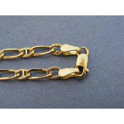 Pánsky zlatý náramok VN20196Z žlté zlato 14 karátov 585/1000 1,96 g