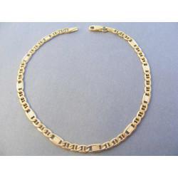 Pánsky náramok zlatý DN21234Z žlté zlato 14 karátov 585/1000 2,34 g