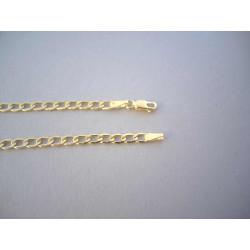 Zlatá retiazka vzor Pancier žlté zlato DR60430Z 14 karátov 585/1000 4,30 g