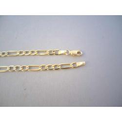 Zlatá pánska retiazka FIGARO vzor DR55612Z 14 karátov 585/1000 6,12 g