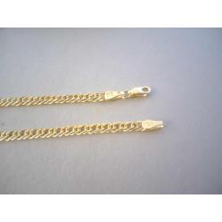 Zaujímavá pánska zlatá retiazka DR60580Z žlté zlato 14 karátov 585/1000 5,80 g