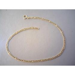 Zlatý náramok UNISEX zaujímavý vzhľad VN20089Z žlté zlato 14 karátov 585/1000 0,89 g
