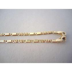 Zlatá retiazka DR445835Z žlté zlato 14 karátov 585/1000 8,35g