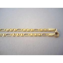 Zlatá retiazka DR451093Z žlté zlato 14 karátov 585/1000 10,93g