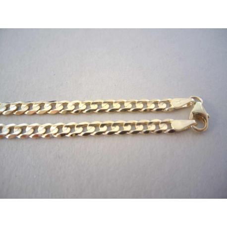 Zlatá retiazka DR45972Z žlté zlato 14 karátov 585/1000 9,72g