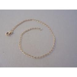 Zlatý náramok jemné očká žlté zlato DN205125Z 14 karátov 585/1000 1,25g