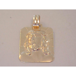 Zlatý prívesok Ježišova tvár VI285Z žlté zlato 585/1000 2,85 g
