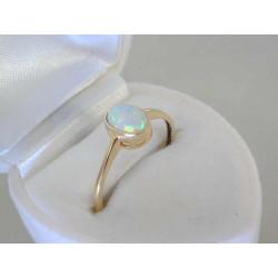 Dámsky zlatý prsteň opál V57132Z žlté zlato 14 karátov 585/1000 1,32g